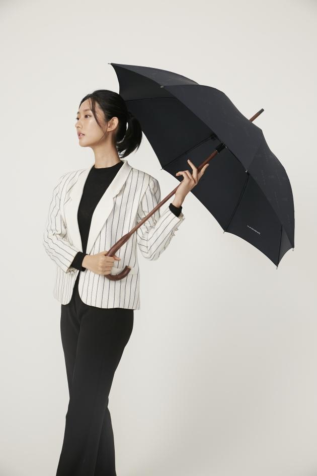 CLASSIC WOODEN經典威登木直傘-黛麗黑 3