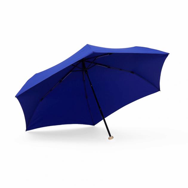 MINI POCKET迷你仕幔折傘-深邃藍 2